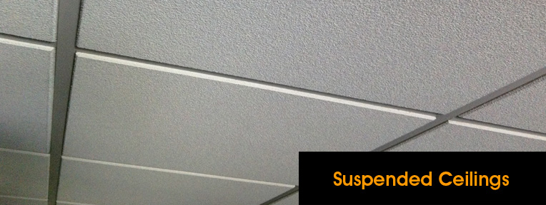 Suspending ceiling tiles